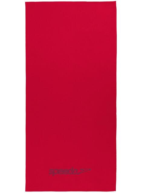 speedo Light Towel 75x150cm, red